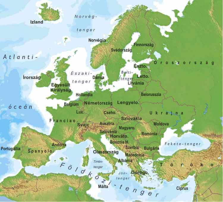 Kozep Europa Barangolas